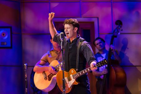 Million Dollar Quartet. Matt Wycliffe as Carl Perkins