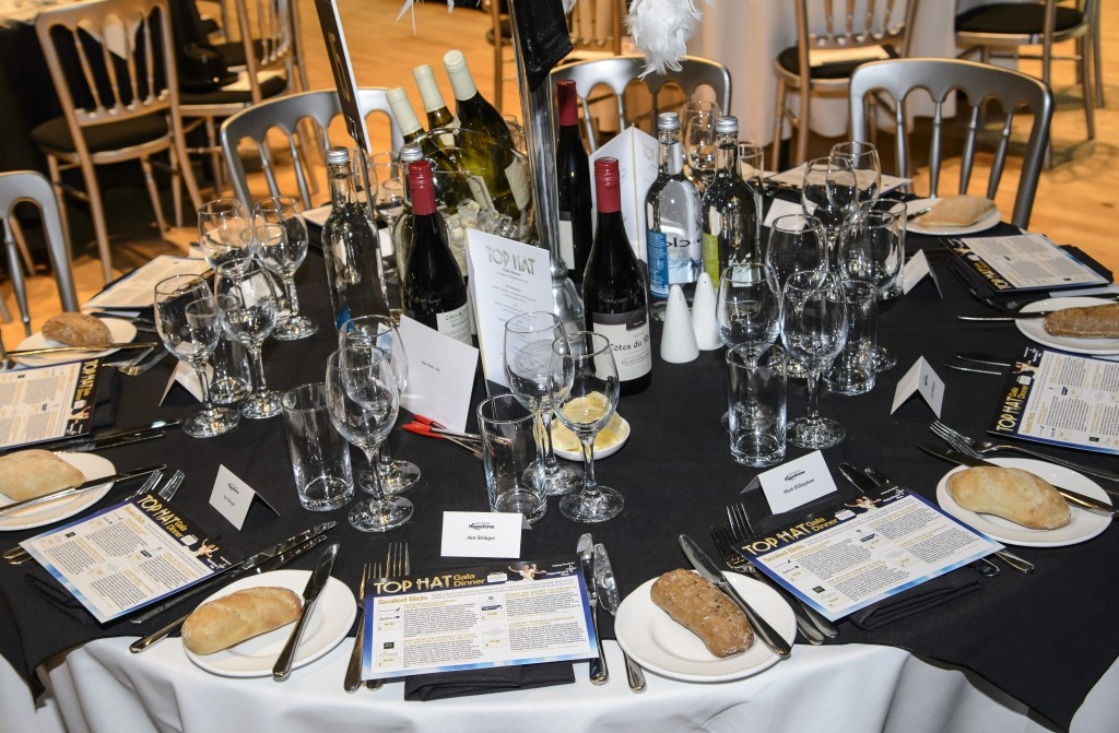 Birmingham Hippodrome, Top Hat Gala Dinner. 19th March 2015. Picture by Simon Hadley 07774 193699 www.simonhadley.co.uk