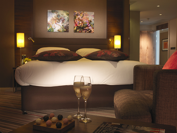 aHotel La Tour bedroom (superior)