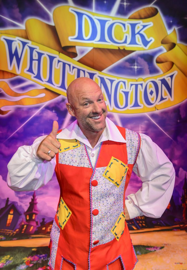 Dick Whittington - Panto Photocall.  The Birmingham Hippodrome. 7th September 2016. Pictured is Matt Slack (Idle Jack). Picture by Simon Hadley 07774 193699 www.simonhadley.co.uk