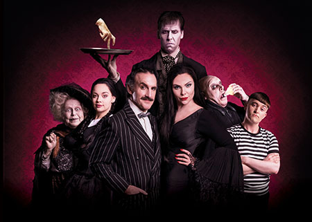 The Addams Family landscape family image