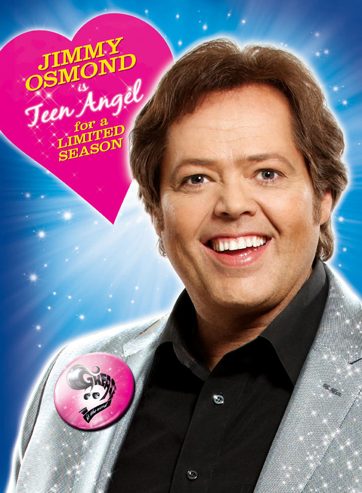Jimmy Osmond to Reprise the Role of Teen Angel in Grease ...