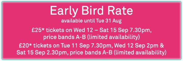 Taj Express early bird rate