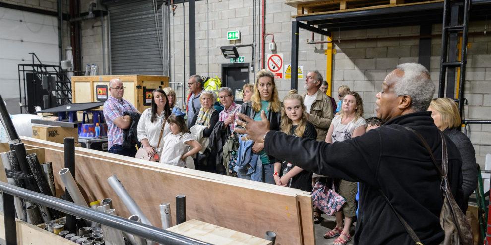 behind the scenes tours birmingham hippodrome